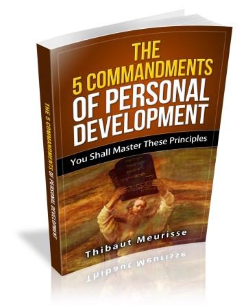 The 5 Commandments of Personal Development