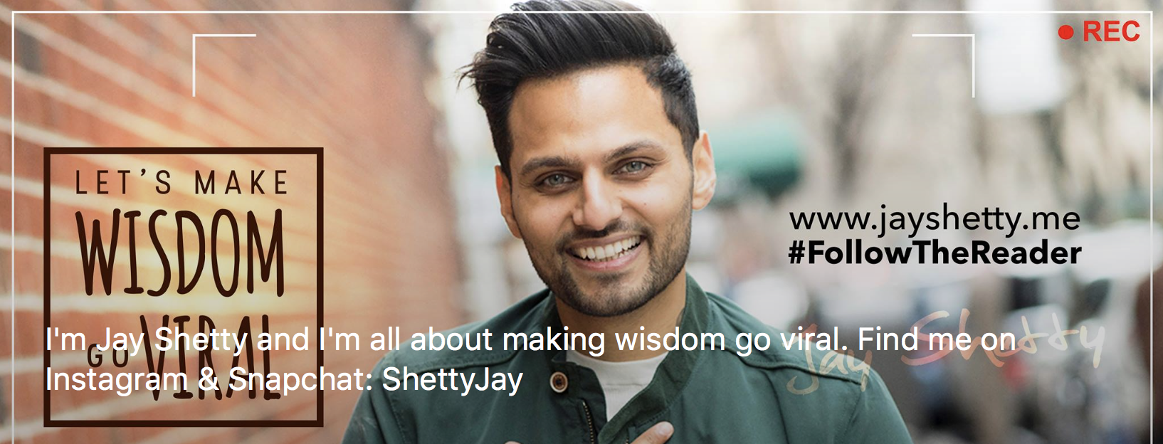 Jay Shetty Facebook Page Image