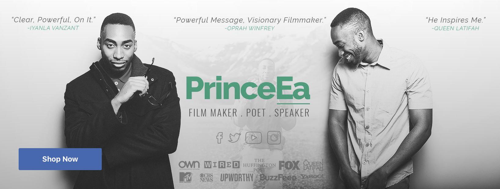 PrinceEa Facebook Page Image